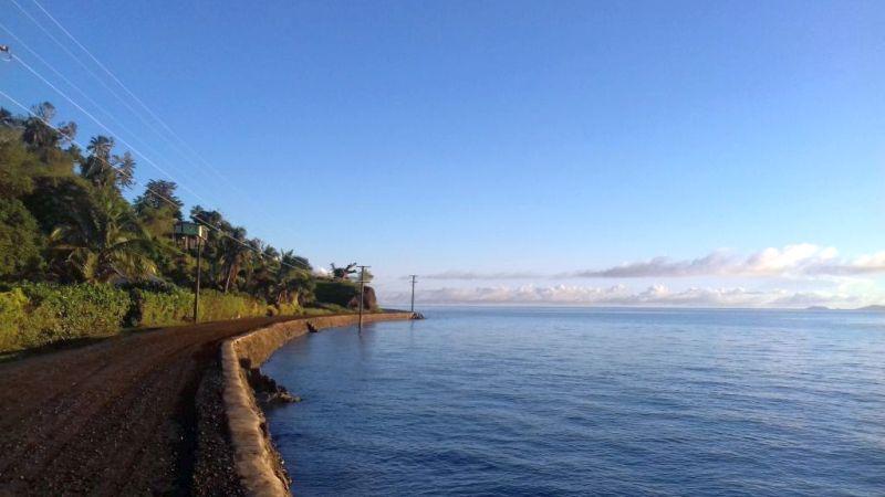Levula, Ovalau, coastal road