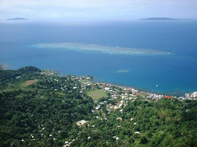 Levuka from Peak